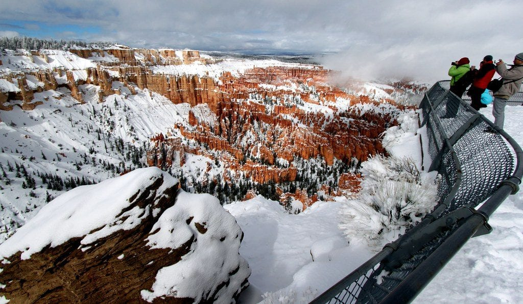 Bryce Canyon Winter Sightseeing