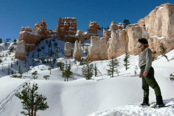 Bryce Canyon Winter Snowshoeing