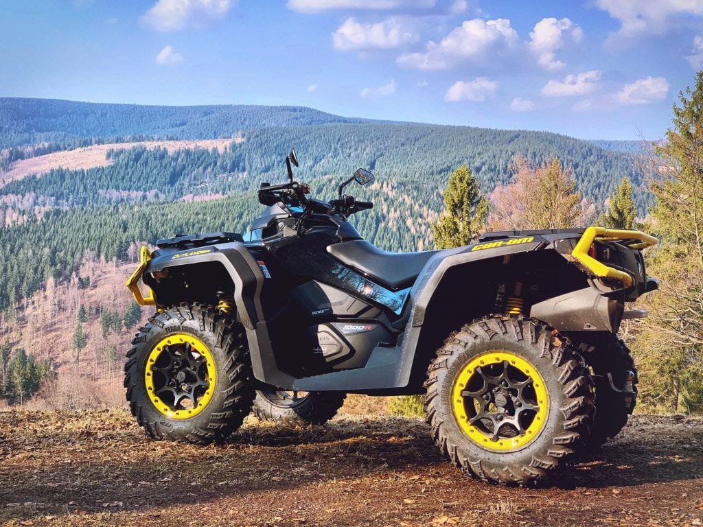 ATV on a Trail